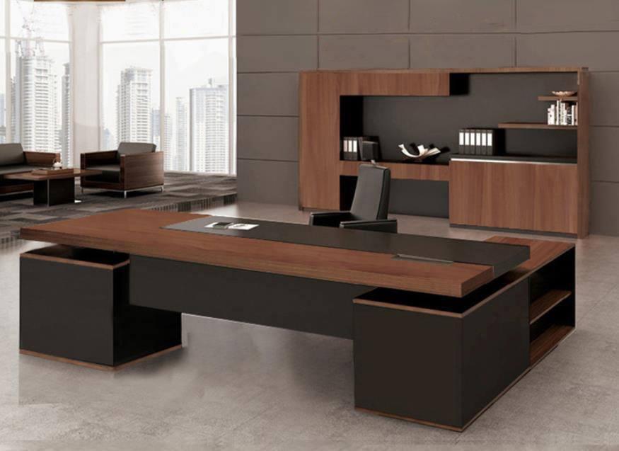 Moderne directeur kantoor bureau u rudisa woninginrichting
